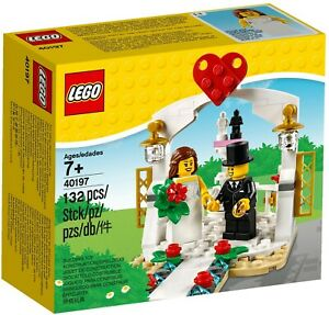 Lego 40197 Wedding Favour Set 2018 -  Brand New (Free Shipping)