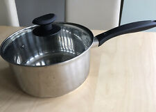 Large Saucepan And Glass Lid