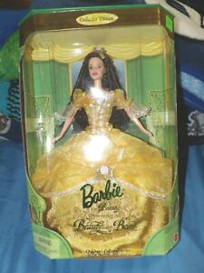BARBIE BEAUTY AND THE BEAST PRINCESS DOLL COLLECTORS EDITION VINTAGE 1999 NIB