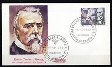 Italy - 1983 Ernesto Moneta (Peace Nobel prize) - Mi. 1844 clean unaddressed FDC