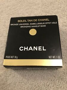 New opened and boxed, Chanel Bronzing Makeup Base, Soleil Tan De Chanel, 30g
