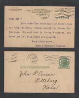 1924 FUNK & WAGNALLS CO NEW YORK ADVERTISING US POSTAL CARD UX27