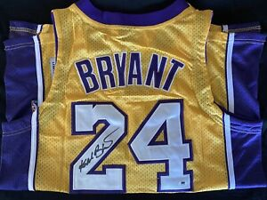 Kobe Bryant Autograph Jersey #24 with COA