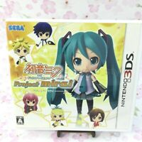 USED 3DS Hatsune Miku and Future Stars Project mirai Normal Edition 10907 JAPAN