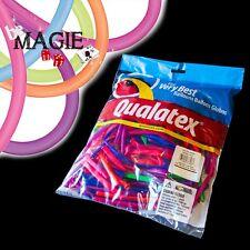 100 Ballons Qualatex NEON - 260 Q -  Magie - sac sculpture Fluorescent