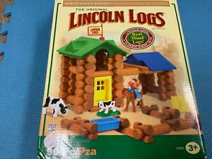 Lincoln Logs White River Ranch- original box set plus extra!