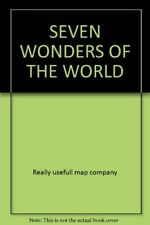 Excellent, SEVEN WONDERS OF THE WORLD, Really usefull map company, Book