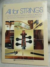 All For Strings, book 1, Comprehensive String Method Sheet Music Book