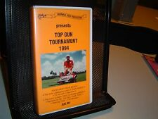 TOP GUN TOURNAMENT 1994 Video VHS Scale Aviation FLYING AIRPLANES Plane