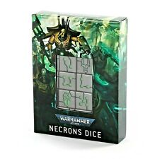 Necrons Dice Set - Games Workshop Warhammer 40k ** Brand New in Box!