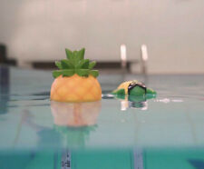 Swimming Pool Jacuzzi Pineapple or Turtle Thermometer with Floating Tether Cord