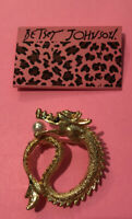 Betsey Johnson Dragon Brooch NWT ~Free Shipping~