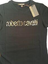 Stunning genuine ladies Roberto cavalli logo top bnwt size m rrp£150
