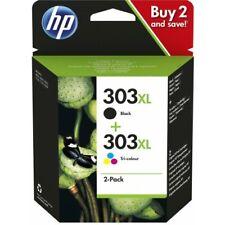 HP 303XL Combo Pack Confezione Cartucce Originali Inchiostro Nero e Tricromia