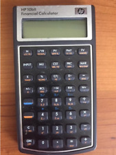 HP 10BII Financial Calculator with Case & Batteries