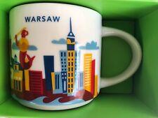 Starbucks WARSAW 2017 - You Are Here - ( YAH ) Global City Icon Mug with Box