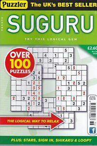 Puzzler SUGURU Book Mag Brand New Back Issue #76 - 100+ Logic Puzzles