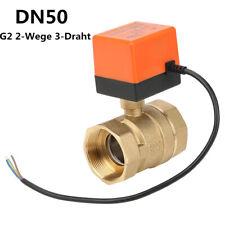 Zonenventil 2 Wege DN50 G2 220VAC Kugelhahn Umschaltventil Motorkugelhahn Ventil