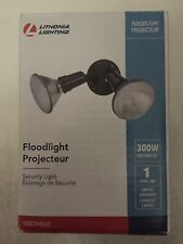 Lithonia Lighting Bronze Outdoor Twin 300W Max Floodlight Brand New