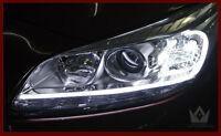 LED Strip Car Flexible Tube Headlight Light Strip White DRL Angel Eye Halo Ring