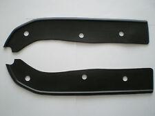 lambretta front mudguard rubbers black GP