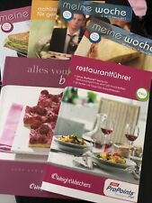 Weight Watchers Reataurantführer und Backbuch