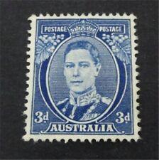 nystamps British Australia Stamp # 183 Mint OG H $33   A9y1350
