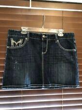 Women's Maurices Blue Jean Skirt.  Size 15/16.  CUTE!!