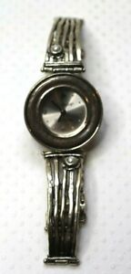 """Silpada Sterling Silver 7"""" Watch Bracelet With Pearls Shablool Didae Retired"""