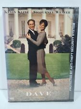 Dave (DVD, 1998, Snap Case) OOP, Out of Print, NEW, SEALED, Kevin Kline