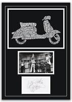 The Who Quadrophenia Autographs Memorabilia Poster Pete Townshend 2 Sizes