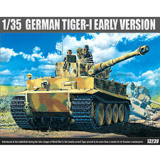 Academy 1/35 GERMAN TIGER-I EARLY VERSION TANK Plastic Model Kit Armor #13239