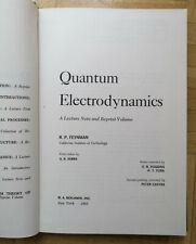 Quantum Electrodynamics von R. P. Feynman 1962