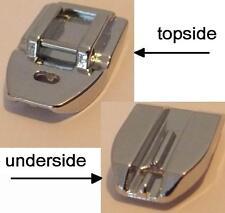 Interno macchina da cucire invisibile Snap On Zipper PIEDE MACCHINA DA CUCIRE piedi ZIP