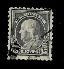 US 1917 Sc# 514 - 15 c  FRANKLIN  Used - Centered - Crisp Color