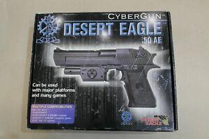 CyberGun Desert Eagle .50 AE Gun Pistol Playstation GunCon PSOne PS2  RARE
