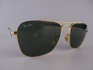 Vintage B&L Ray Ban Caravan Sunglasses Size 52-16 Small Made in USA