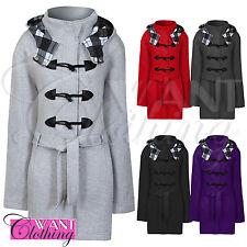Unbranded Women's Fleece Hip Length Outdoor Coats & Jackets