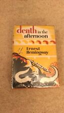 ERNEST HEMINGWAY - DEATH IN THE AFTERNOON - UK 1ST EDN 1ST REPRINT 1933 - IN D/W