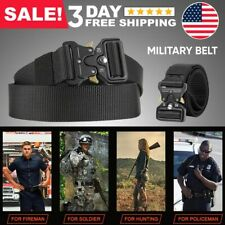 Quick Release Tactical Belt Waistband Military Security Work Pants Gear for Men