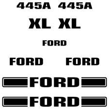 Ford 445A Decals Stickers Repro kit