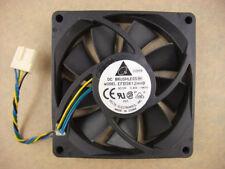 Delta EFB0812HHB 80mm x15mm Fan  12V  4Pin 0.40A 617