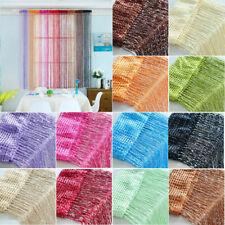 Multi-color Hanging String Curtain Divider Door Window Panel Wedding Room Wall