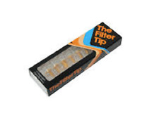 The Filter Tip 10 Disposable Cigarette Filters Mull Buds Bonza Roll Tobacco Tips