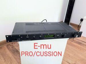 E-MU emu PROCUSSION Pro/Cussion - Sound Module in very good condition. RARE !!