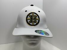Boston Bruins NHL Authentic Zephyr Fitted XL Cap White, NEW!