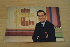 "VTG 1984 ANNOUNCEMENT Postcard~""The PRICE is RIGHT"" TV Show/Bob Barker~"