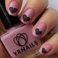 Nail WRAPS Nail Art Water Transfers Decals - Floral Heart - S177