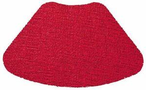 Merritt International Wedge Placemats, Flame Red, Set of 4 (23919)