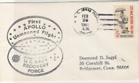 United States 1966 U.S. Navy Recovery Force + other Slogan Stamps Cover ref22091